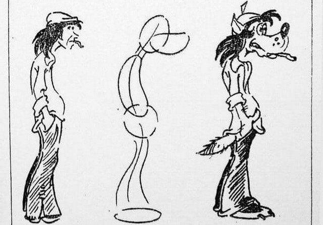 Зарисовки Волка из мультсериала «Ну, погоди!»