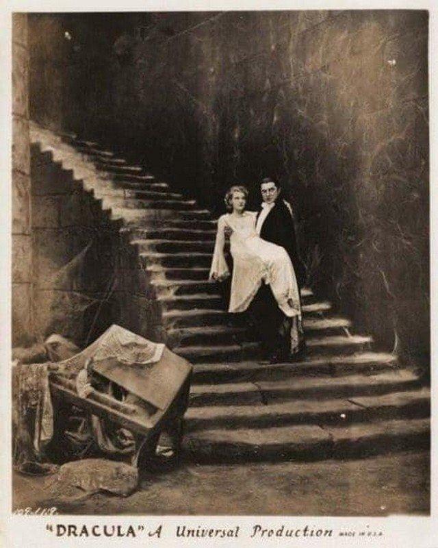 """Съемки фильма """"Граф Дракула"""", 1931 год"""