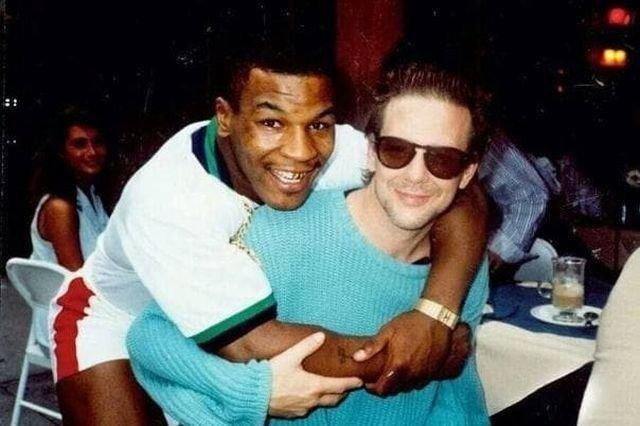 Майк Тайсон и Микки Рурк, начало 1990-х