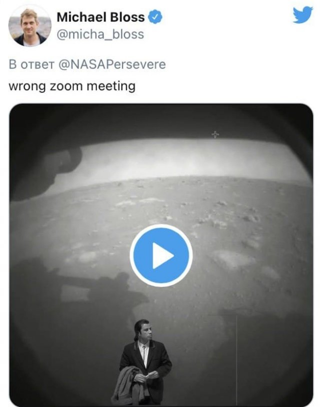 Лучшие шутки и приколы про первый снимок с Марса