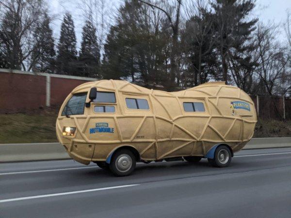 Машина-арахис. Почему бы и нет?