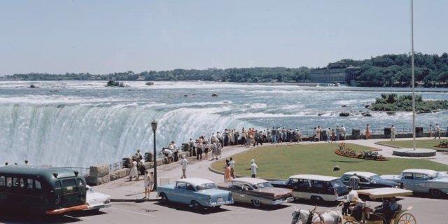 Ниагарский водопад, 1958 год.