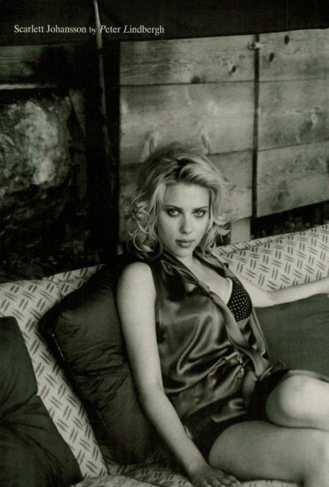 Одна из самых высокооплачиваемых актрис мира Скарлетт Йохансон, 2005 г