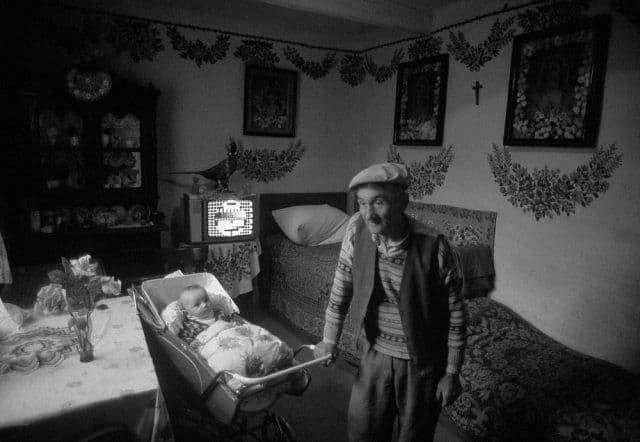 Деревня Залипье, 1976 год.