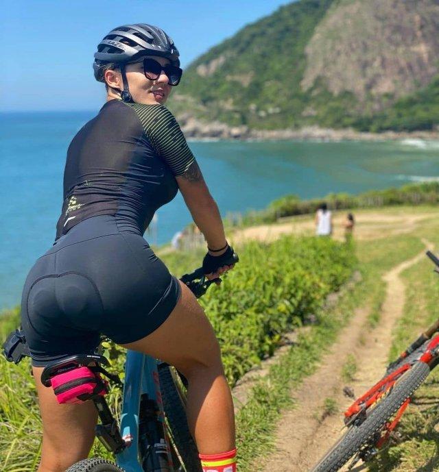 Вело-девушки. Часть 4