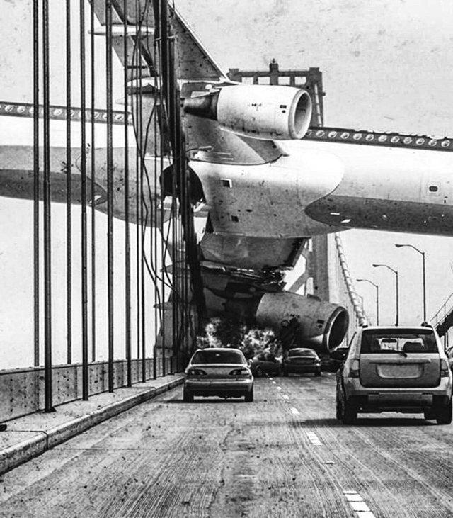 Самолет авиакомпании «Air Florida» врезался в мост над рекой Потомак. Вашингтон, 1982 год.