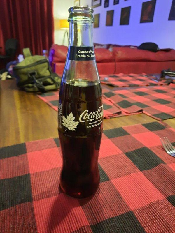 В Канаде продается Coca-Cola с кленовым вкусом
