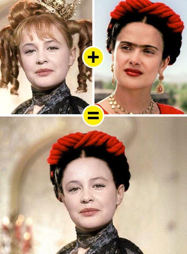 Марина Неелова — Принцесса, «Старая, старая сказка», и Сальма Хайек — Фрида Кало, «Фрида»