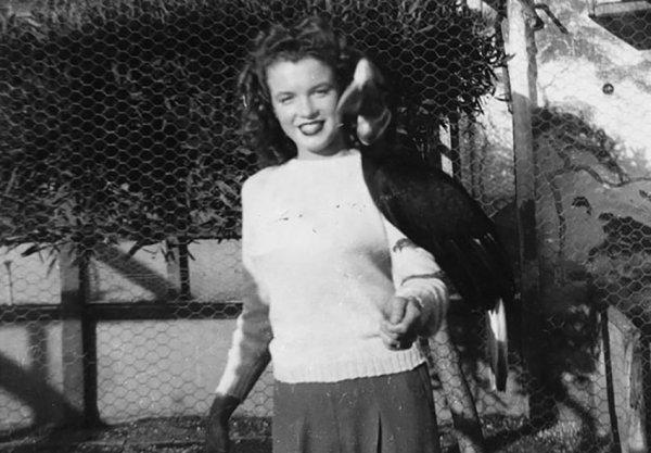 Мерилин Монро в зоопарке, 1941 год
