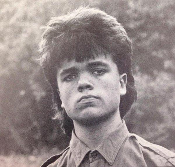 Питер Динклэйдж в 80-х
