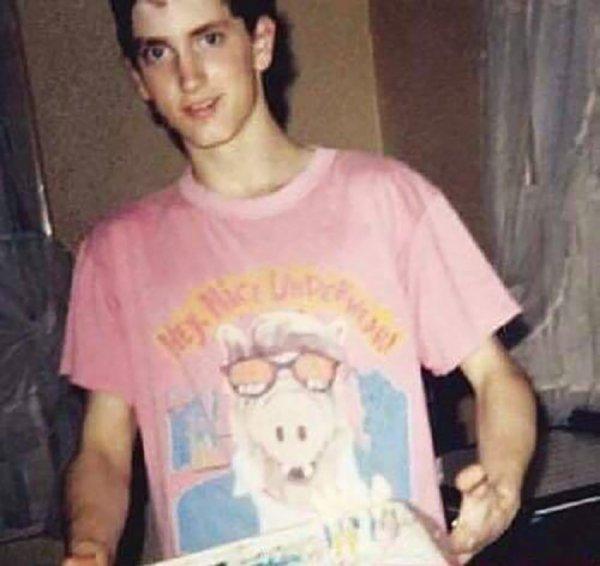 Эминем празднует 18-летие, 1990 год