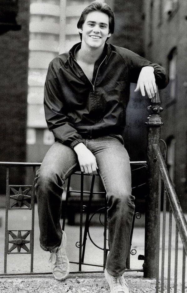 Джим Керри, 1981 год
