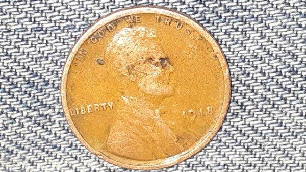 102-летняя монета. Кажется, будто Линкольн надел солнцезащитные очки