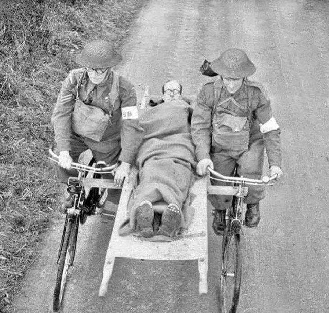 Скорая помощь 1907 года, Италия.