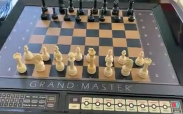 Как выглядел шахматный компьютер в 1983 году