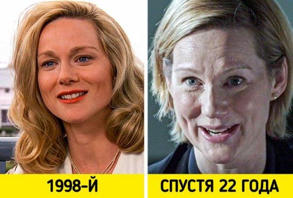 Лора Линни — супруга Трумана из «Шоу Трумана» (1998)