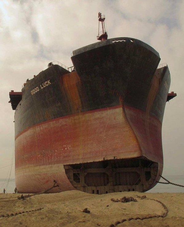Списанный корабль Good Luck