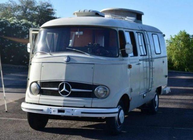 Уютный автодом из старого Mercedes-Benz