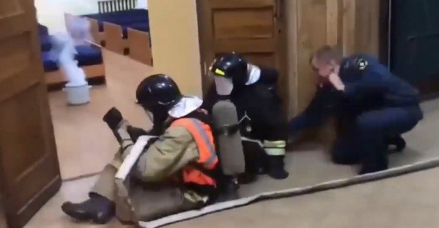 Тренировки, которые проводят в пожарной охране Санкт-Петербурга