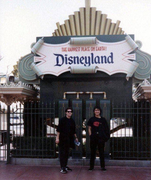 «Кино» в США. Парк «Диснейленд, 1990-й год.