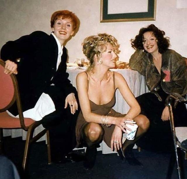 Валерия, Наталья Ветлицкая и Анжелика Варум, 1995-й год.