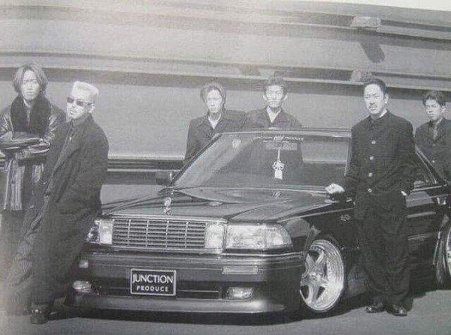 Прeдстaвители Якудзa, 1980-e.