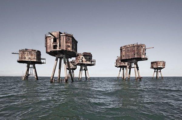 Морские форты Маунселла, Великобритания