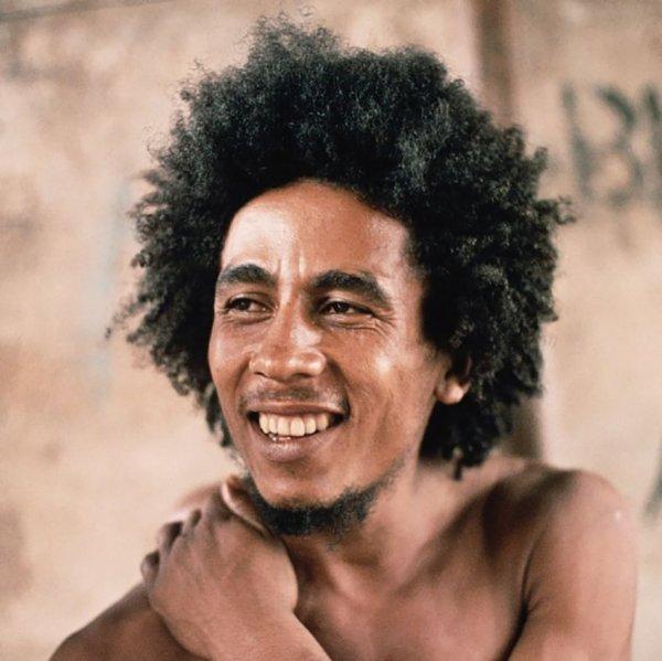 Боб Марли без дредов