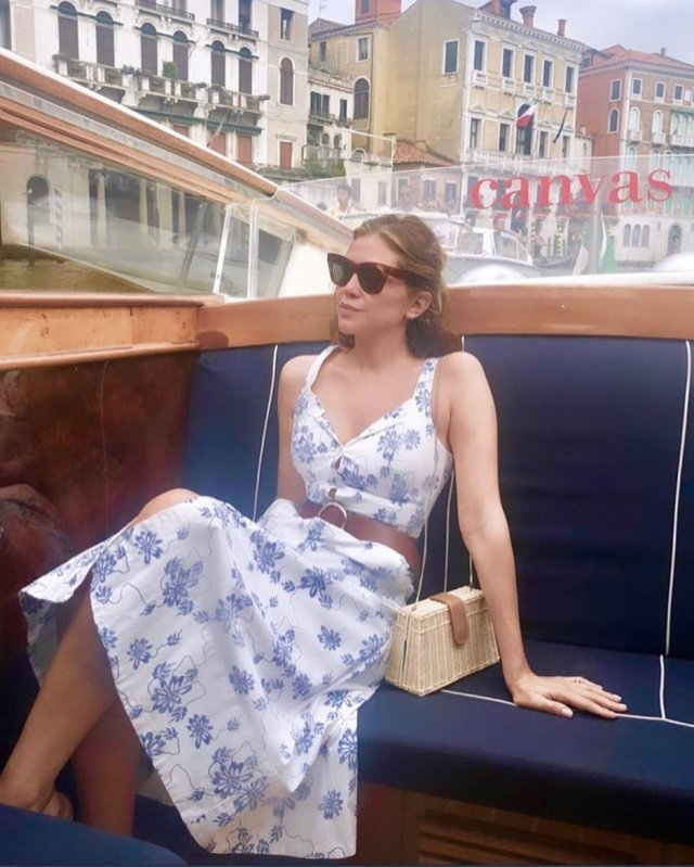 Дарья Жукова в Венеции