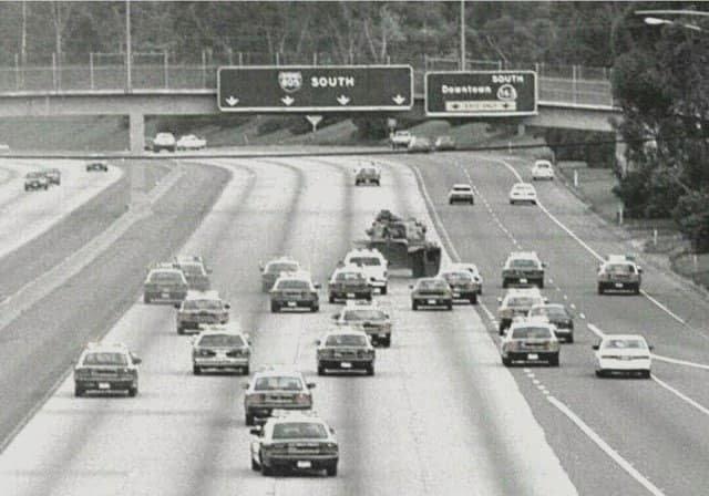 Ветеран армии США Шон Тимоти Нельсон и на тот момент безработный, угнал танк М60 Patton в центре Сан Диего. В итоге был застрелен полицией. 17 мая 1995