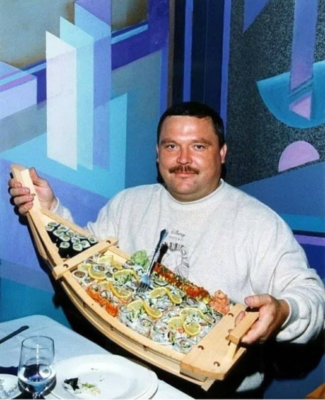 Михаил Круг и роллы, 90-е
