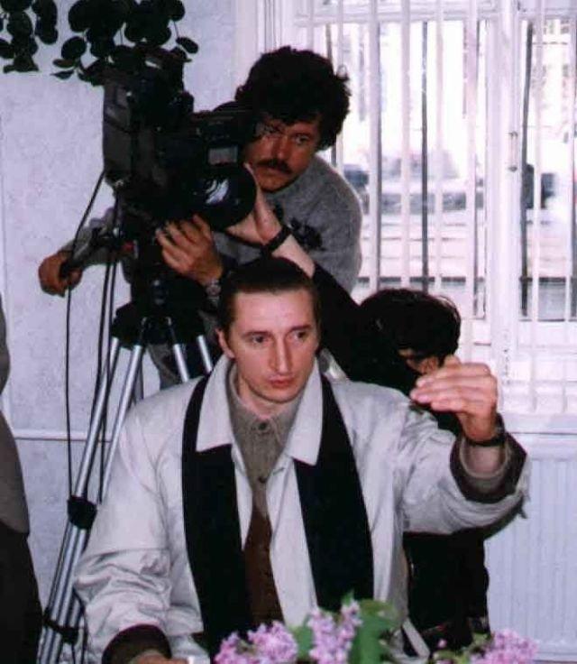 """25 октября 1995 года начались съёмки т/с """"Улицы разбитых фонарей"""" (на VHS """"Менты"""")"""