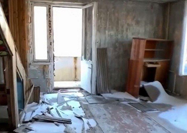 Заброшенная двухуровневая квартира в Припяти