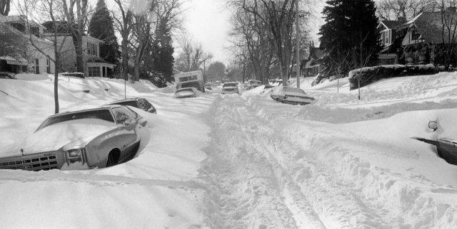 Снежный Денвер, 1982 год.