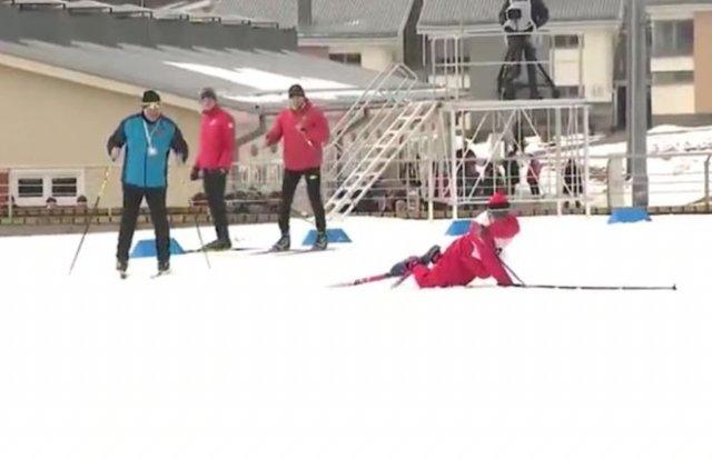 Александр Лукашенко победил в лыжной гонке, но героем соревнований стал не он