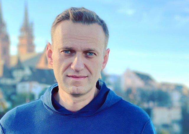 Алексей Навальный с волосами