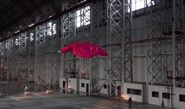 """""""Ростех"""" показал парашют для спасения офисных сотрудников из высоток"""