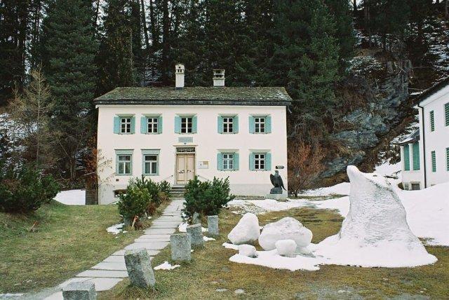 Дом, где Фридрих Ницше в 1883 году написал «Так говорил Заратустра».