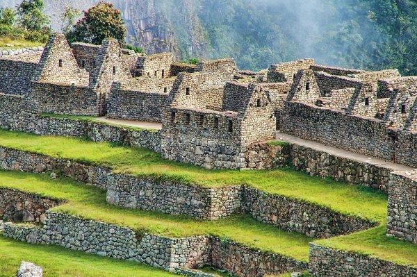 Террасы и постройки Мачу-Пикчу