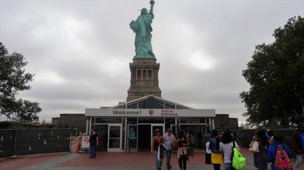 Вход в Статую Свободы, Нью-Йорк