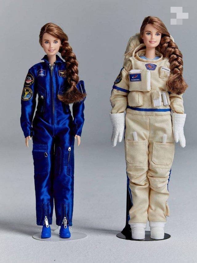 Создали куклу Барби в образе единственной женщины в отряде космонавтов «Роскосмоса» Анны Кикиной (3