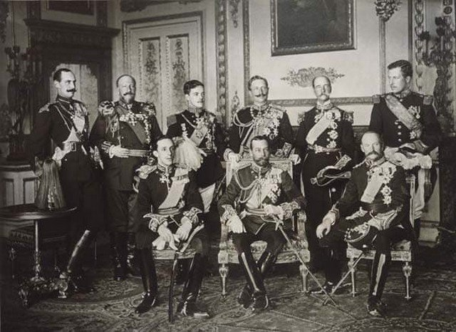 Девять царей  оплакивают смерть короля Эдуарда VII, 1910