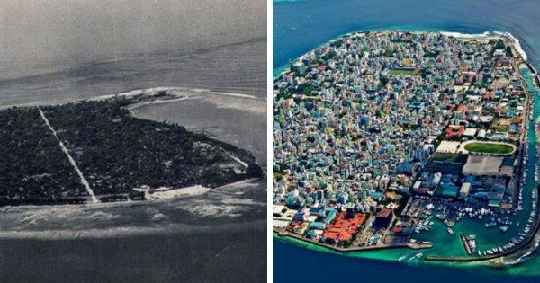 Мале — столица Мальдивских островов (1960-е и сейчас)