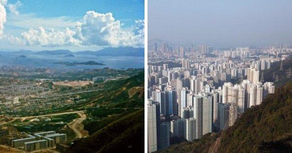 Гонконг тогда и сейчас, 1964 — 2016