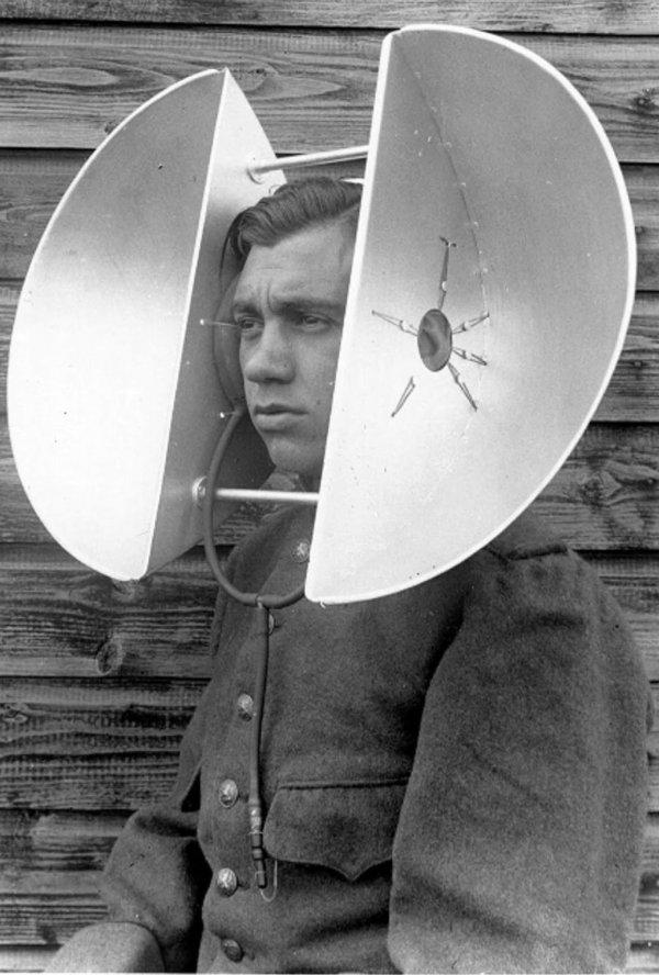 Прибор для обнаружения самолётов, существовавший до изобретения радаров, 1917-1940 годы