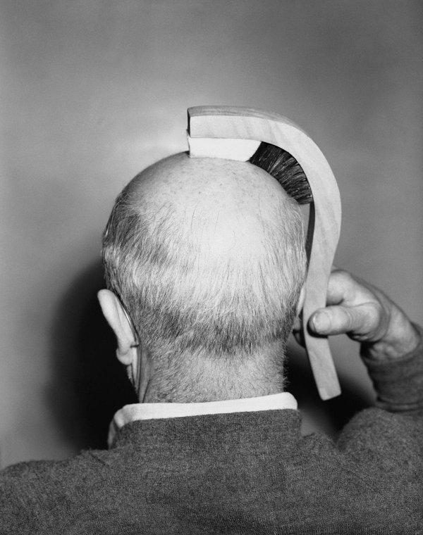 «Кисть для волос», Лос-Анджелесе, 1950-е годы