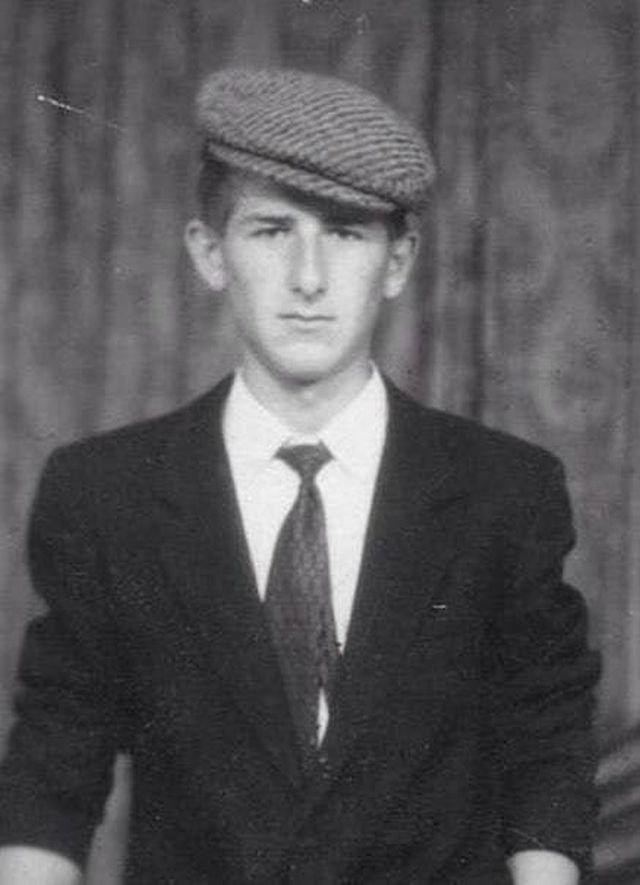 Молодой Рамзан Кадыров в, начало 90-х.