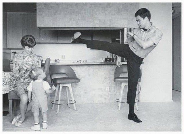 Брюc Ли и Брэндoн Ли, 1966 год