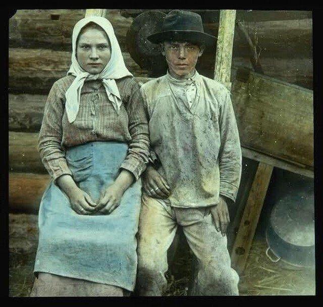 Молодожены. Российская империя, 1910-е