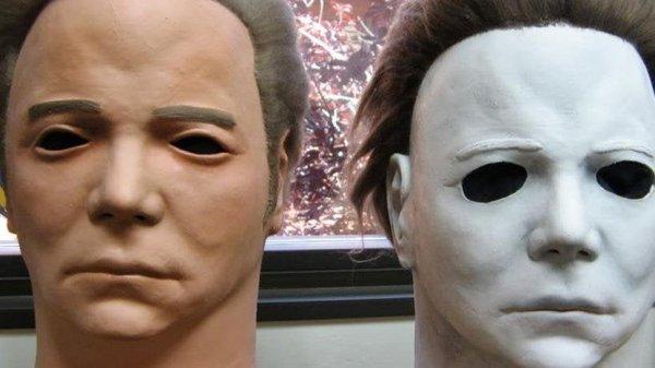 Маска Майкла Майерса — это маска актёра Уильяма Шетнера, вывернутая наизнанку
